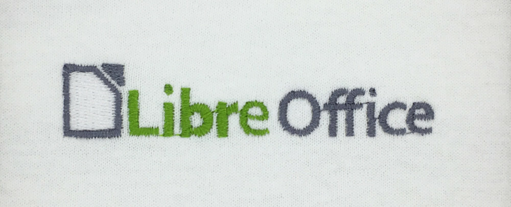LibreOffice embroidery
