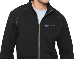 Arch Linux jacket (black)