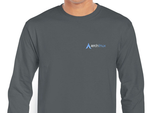 Arch Linux Long Sleeve T-Shirt (grey)