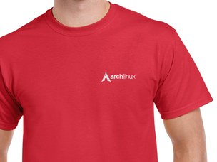 Arch Linux T-Shirt (red)