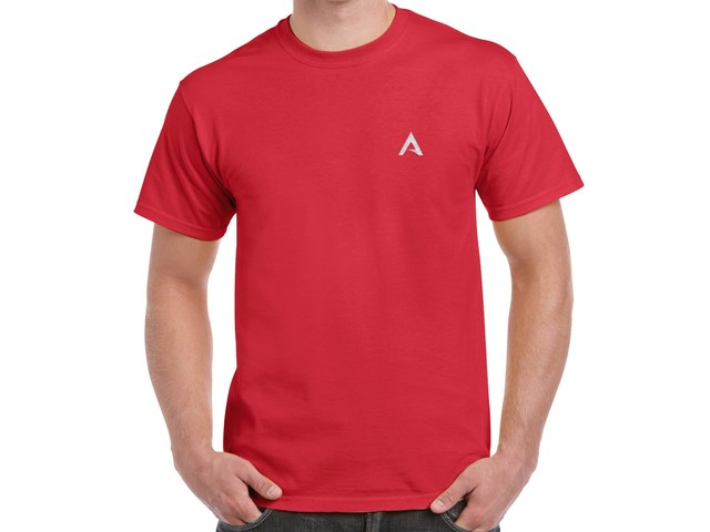 ArcoLinux T-Shirt (red)