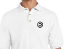 Copyleft Polo Shirt (white)