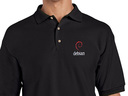 Debian (type 2) Polo Shirt (black)