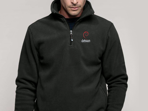 Debian (type 2) pullover jacket (dark grey)