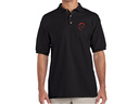 Debian Swirl Polo Shirt (black)