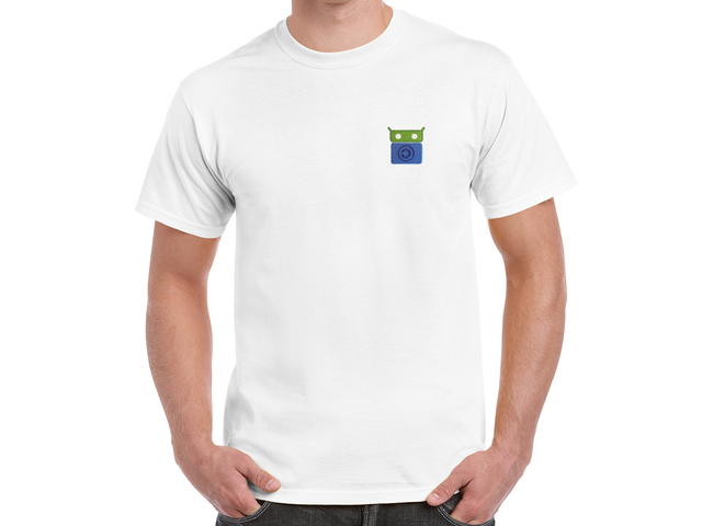 F-Droid T-Shirt (white)