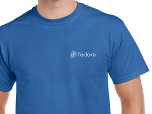 Fedora T-Shirt (blue)