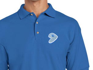 Gentoo Polo Shirt (blue)