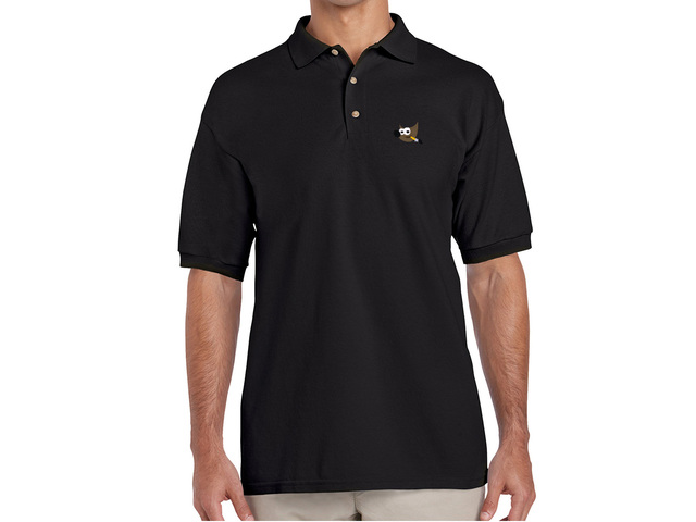 GIMP Polo Shirt (black)