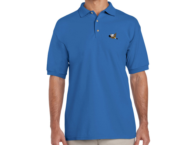 GIMP Polo Shirt (blue)