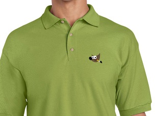 GIMP Polo Shirt (green)