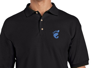 GNOME Polo Shirt (black)