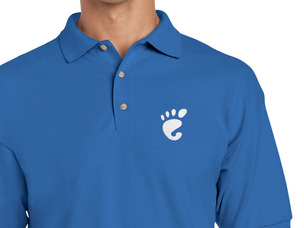 GNOME Polo Shirt (blue)