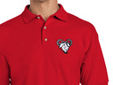 GNU Polo Shirt (red)