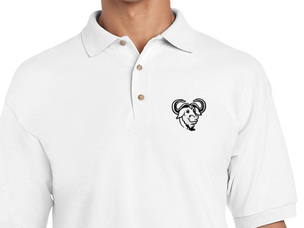 GNU Polo Shirt (white)