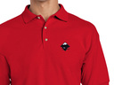 Inkscape Polo Shirt (red)