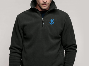 KDE pullover jacket (dark grey)