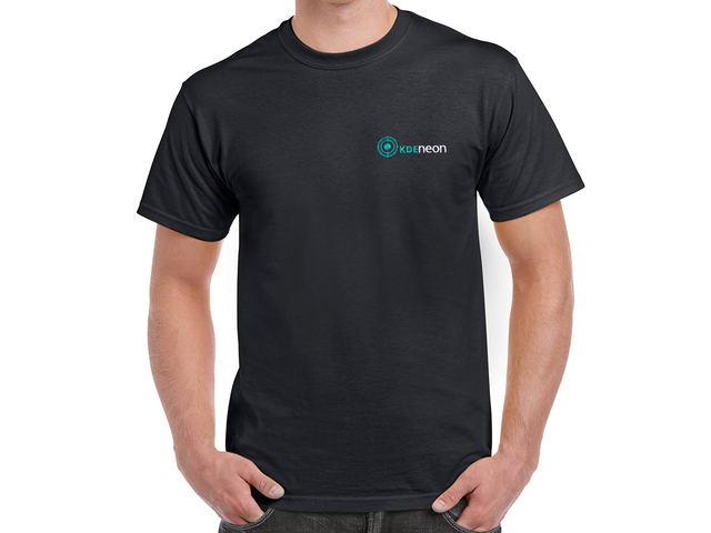 KDE Neon T-Shirt (black)