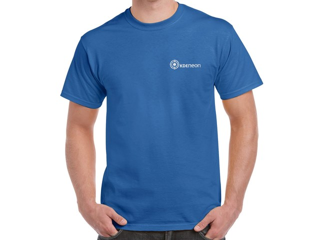 KDE Neon T-Shirt (blue)