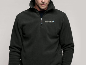 Kubuntu pullover jacket (dark grey)