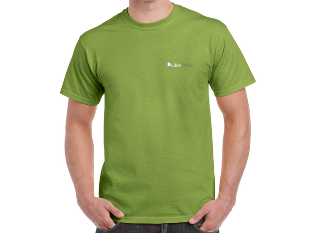 LibreOffice T-Shirt (green)