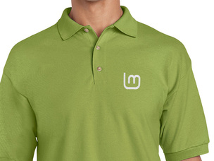 Linux Mint 2 Polo Shirt (green)