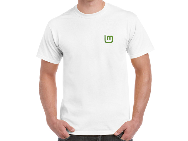 Linux Mint 2 T-Shirt (white)