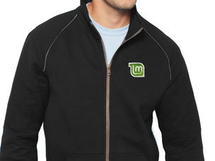 Linux Mint jacket (black)