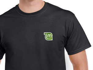 Linux Mint T-Shirt (black)