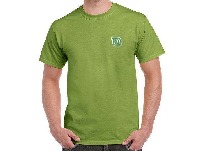 Linux Mint T-Shirt (green)