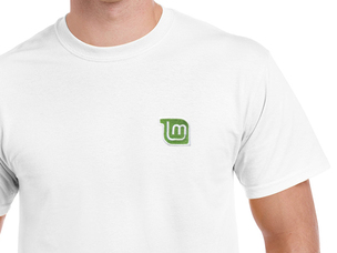 Linux Mint T-Shirt (white)