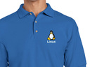 Linux Polo Shirt (blue)