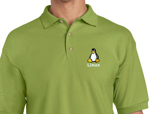 Linux Polo Shirt (green)