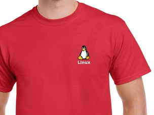 Linux T-Shirt (red)