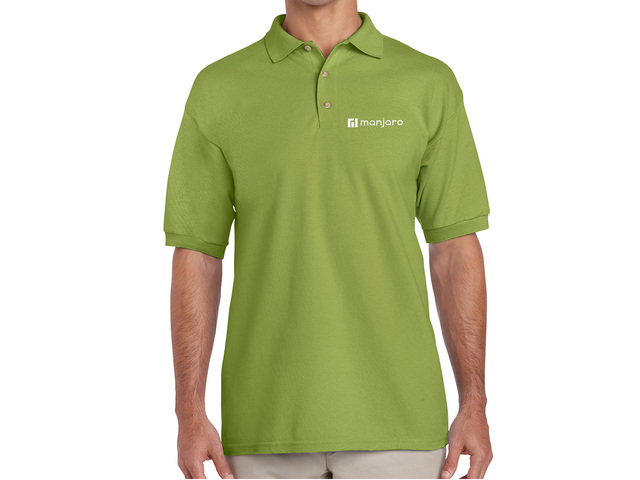 Manjaro Polo Shirt (green)
