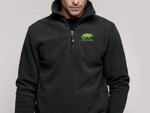 openSUSE pullover jacket (dark grey)
