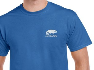 openSUSE T-Shirt (blue)