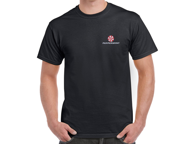 Peppermint T-Shirt (black)