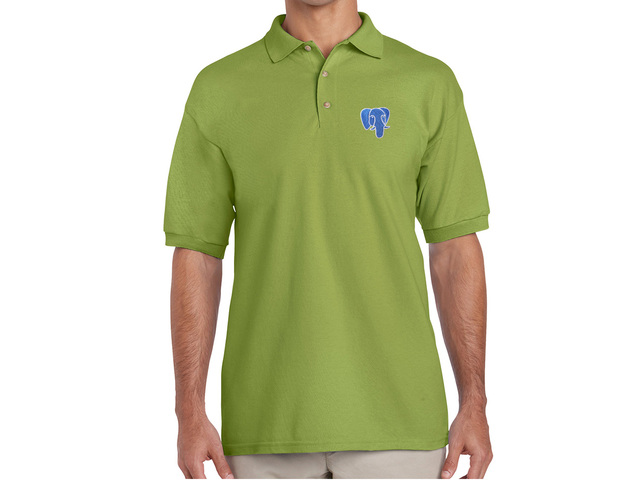 PostgreSQL Polo Shirt (green)