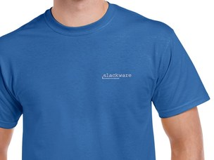 Slackware T-Shirt (blue)