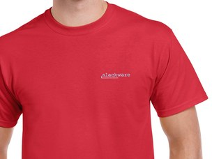 Slackware T-Shirt (red)