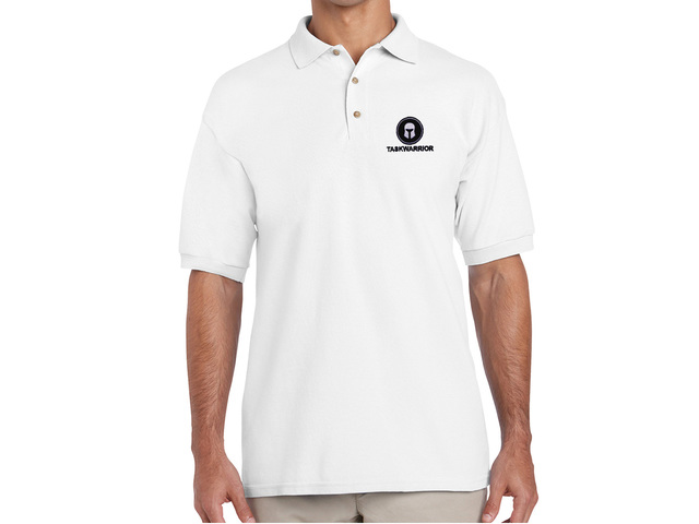 Taskwarrior Polo Shirt (white)