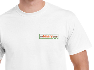 The Binary Times T-Shirt (white)