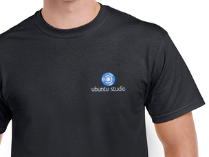 Ubuntu Studio T-Shirt (black)