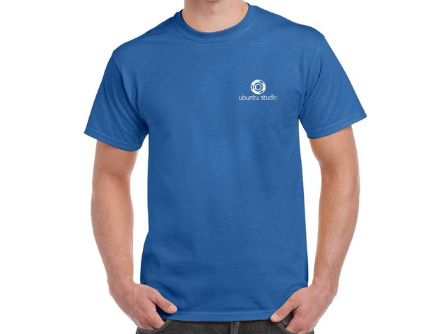 Ubuntu Studio T-Shirt (blue)