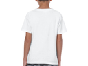 Debian embroidered youth t-shirt (white)