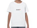 Ubuntu embroidered youth t-shirt (white)